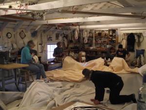 Sail Repair Gallery
